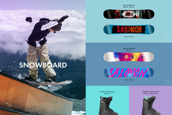 Go Sport – Landing Page – Winter